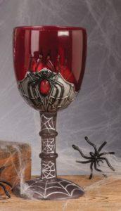 spinnweben weinglas