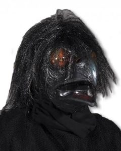 Krähen Horror Maske