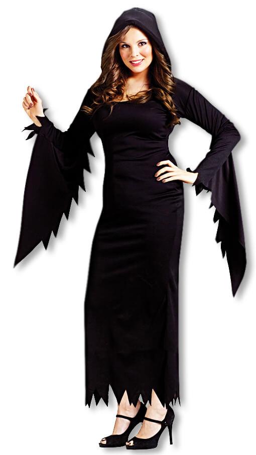 Schwarzes Kostüm Kleid