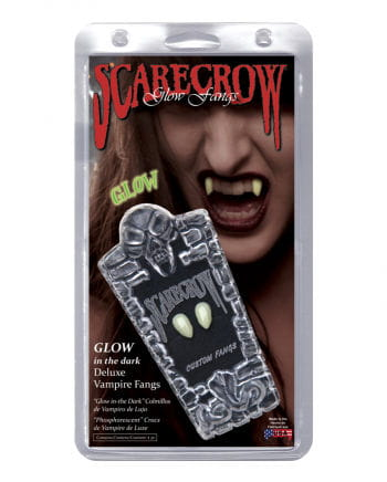 Scarecrow Vampirzähne Glow in the Dark''''