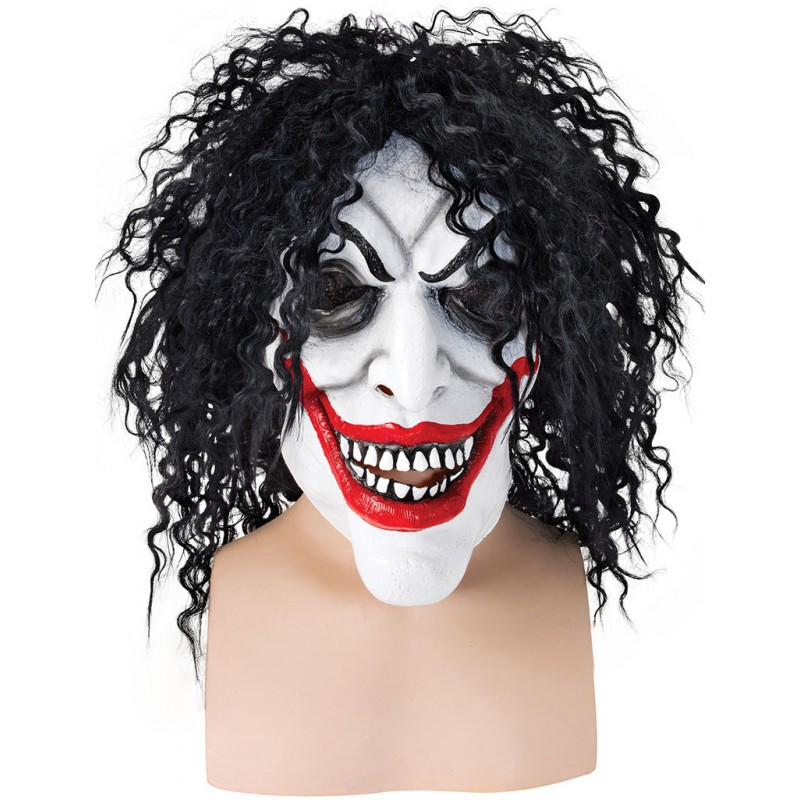Smiling Man Horror Clown Maske