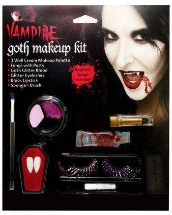 Dunkle Gothic Fee Make Up Set