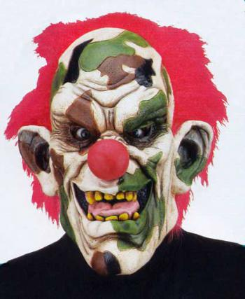 Army Clown Maske
