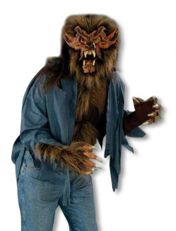 Werwolf Shirt Braun