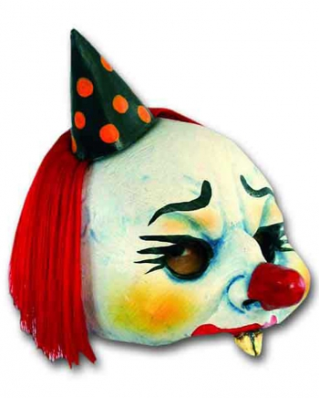 Gnawer Clown Halbmaske