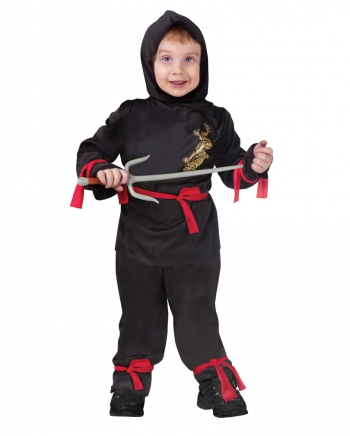 Mini Ninja Kinderkostüm - S