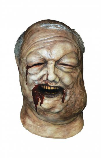 The Walking Dead Brunnen Zombie Maske