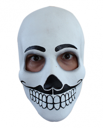 Day of the Dead Moustache Maske