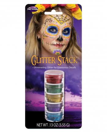 Glitzer Make Up Stack