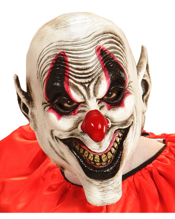 Smiling Evil Clown Maske