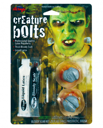 Frankenstein Schrauben Make Up Kit