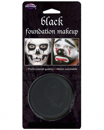 Karneval Basic Make-up schwarz