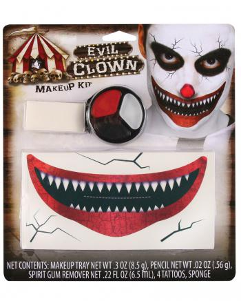 Killer Clown Schmink Set