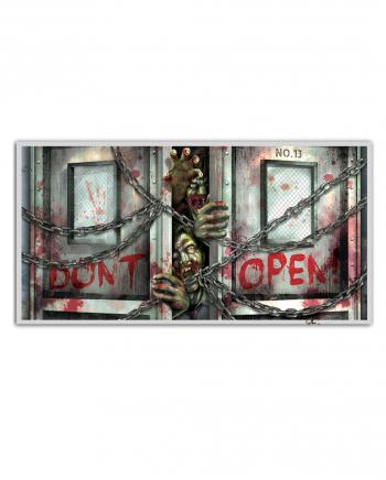 Don't Open'' Zombie Banner''