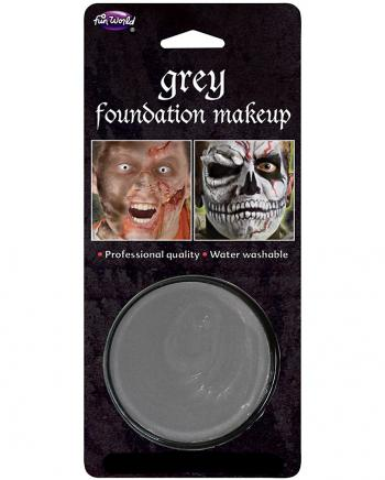 Karneval Basic Make-up grau
