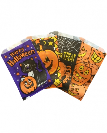 Halloween Mini Zuckertüte 30er Pack