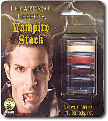 Vampir Schminke Make Up Stack