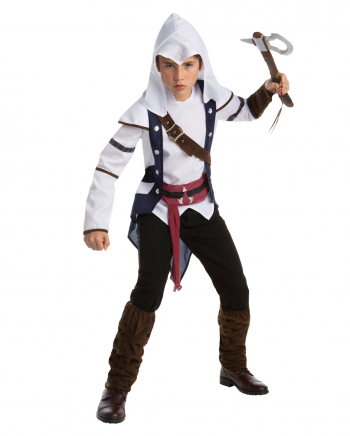 Assassins Creed Teen Kostüm Connor