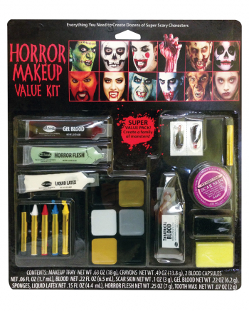 21-teiliges Halloween Make-up Set