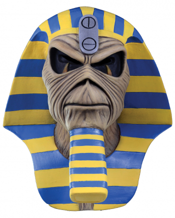 Iron Maiden Maske Powerslave Pharao