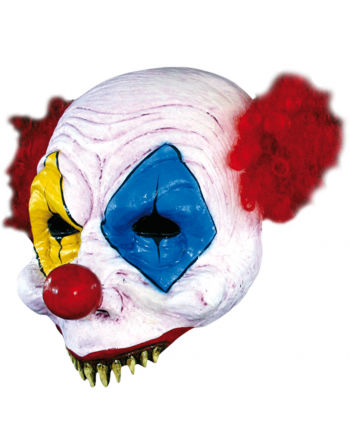 Sharky Gus Clown Halbmaske