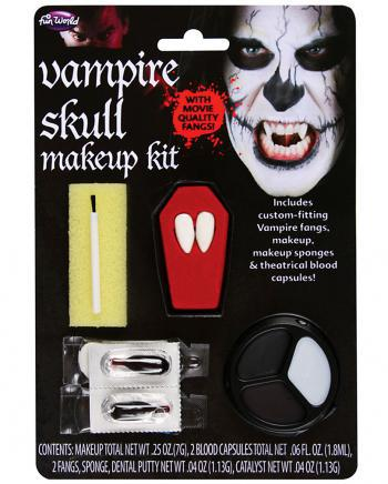 Make-up Kit Vampir Totenkopf