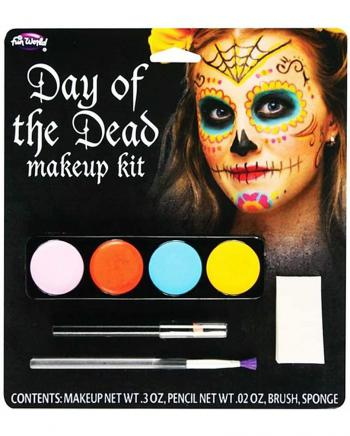 Damen Schminkset Day of the dead