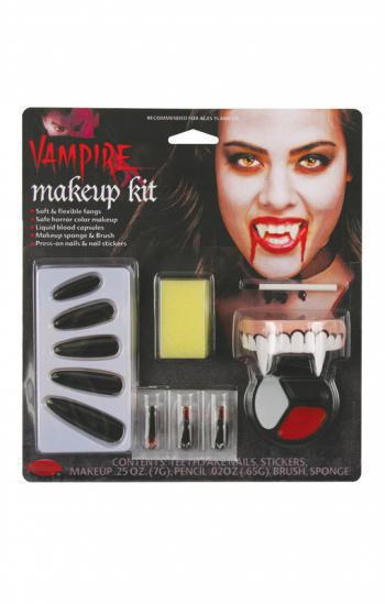 Komplett Make-up Kit Vampiress