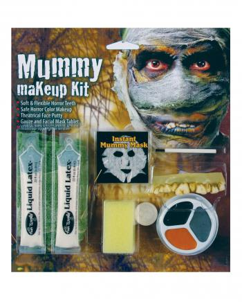 Komplett Make Up Kit Mumie