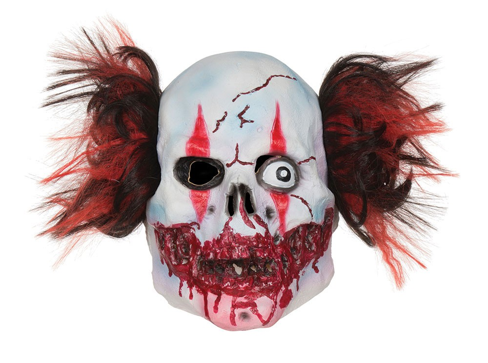 Irre Horror Clown Maske