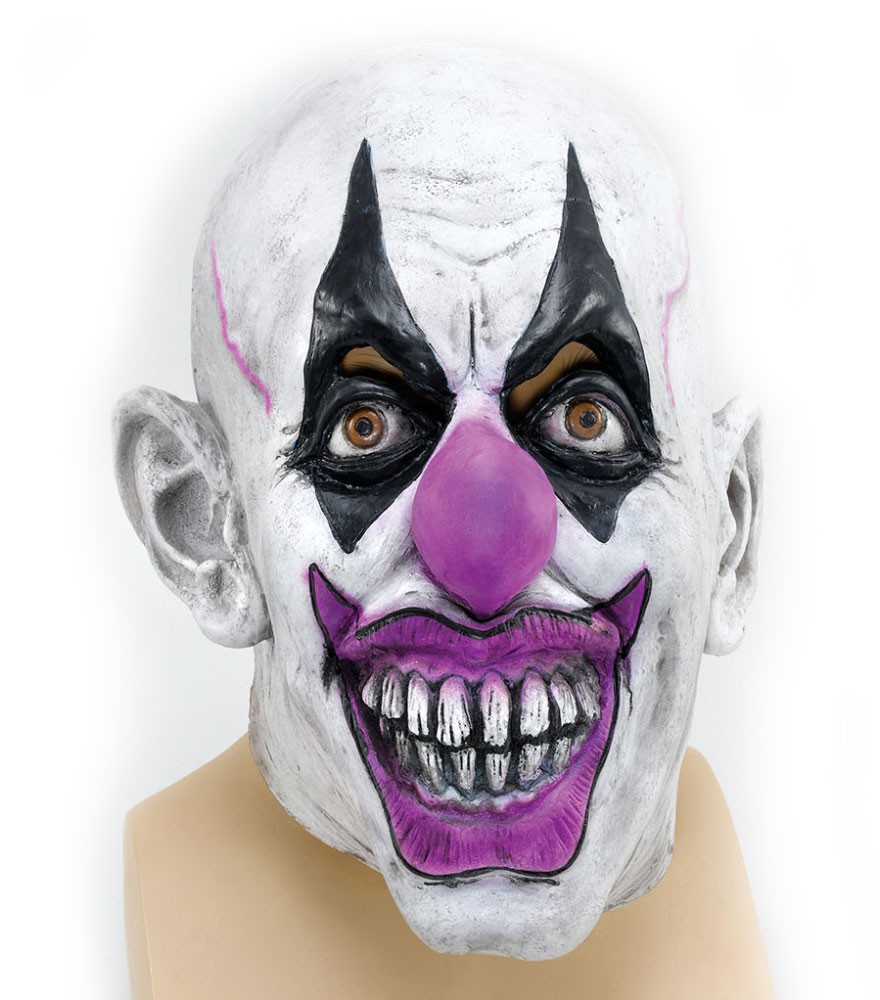 Scary Clown Horror Maske
