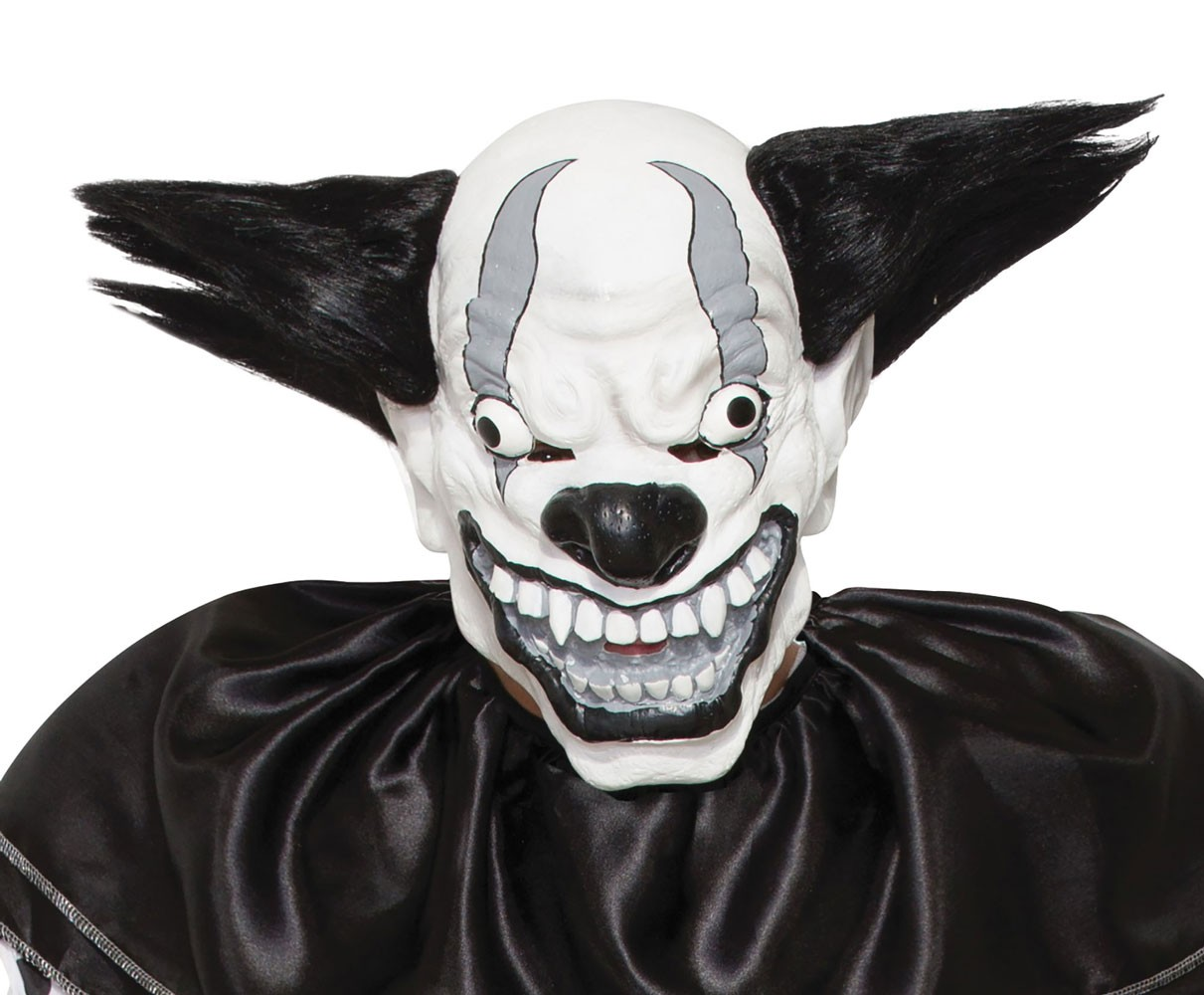 Teufels Clown Horror Maske
