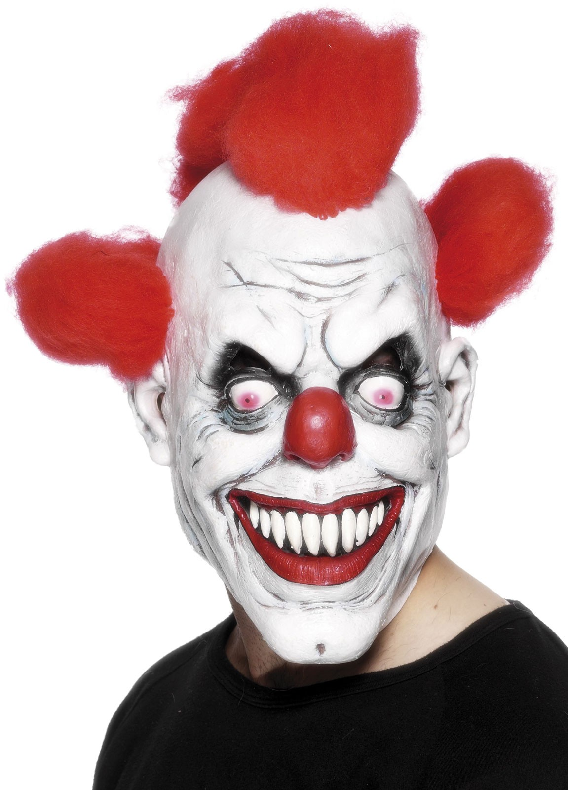 Horrible Horror Clown Maske