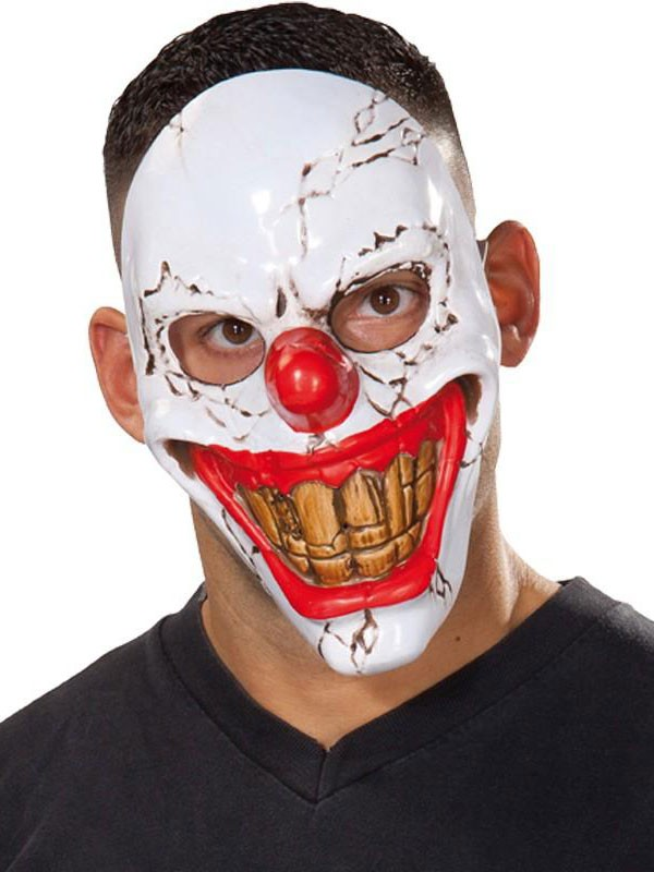 Horror Clown Maske Scary